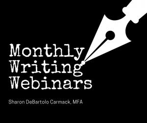 Monthly Writing Webinars